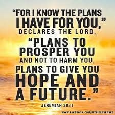for i know the plans...