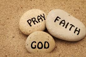 Pray faith God