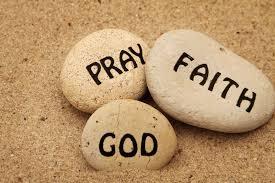 Pray faith God