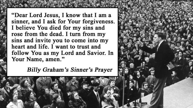 billy grahams sinners prayer