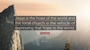 jesus is the hope