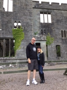 steve and shanon scotland castle