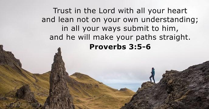 proverbs- 3 5 through 6 hills