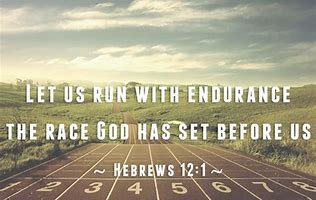 let us run with endurance